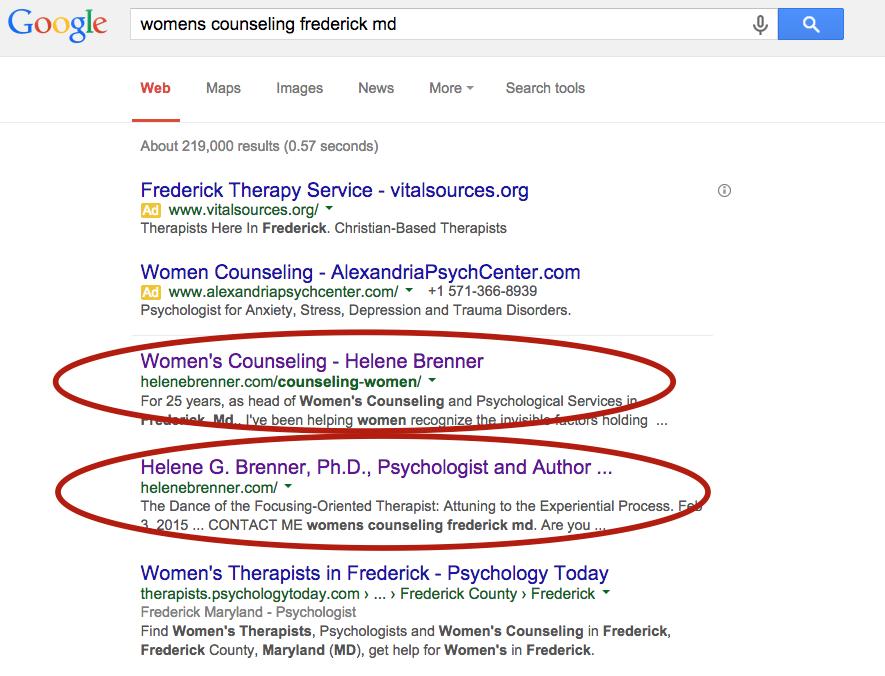 womens counseling ottawa seo expert company rankings