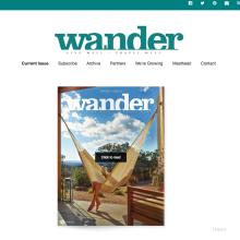 WanderMagazine Social Media