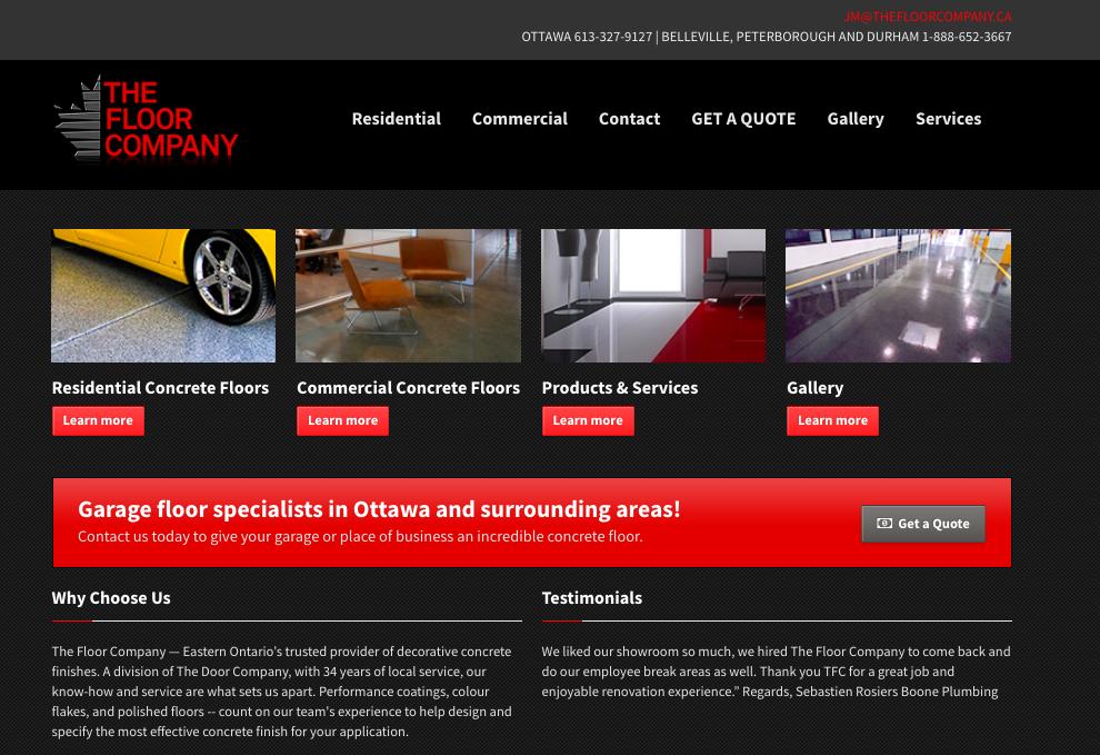 website design ottawa