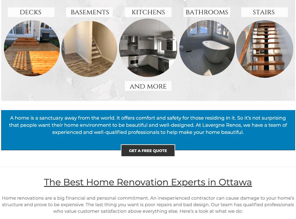 website designs ottawa wordpress