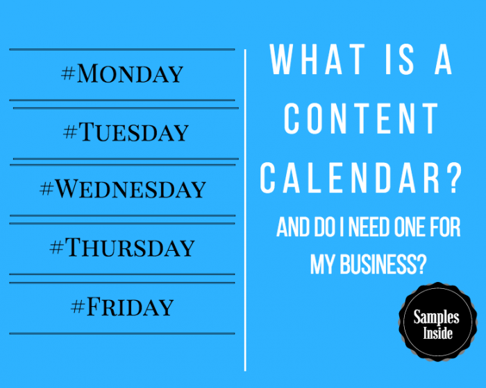 content calendar examples template ottawa seo company