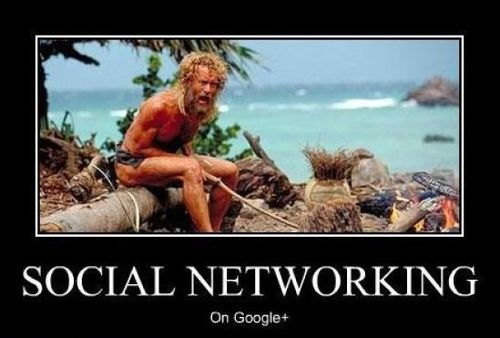 google plus social media meme 2016