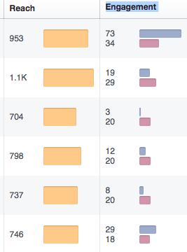 Social Media Reach Engagement