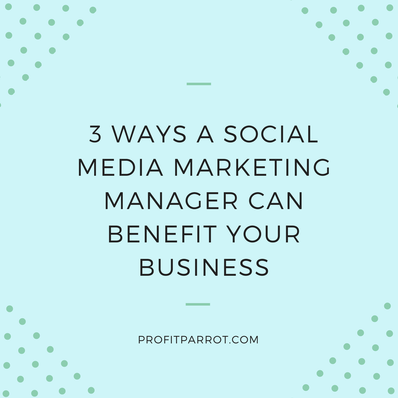 social media marketing manager