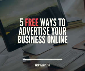 free ways to advertise your business online