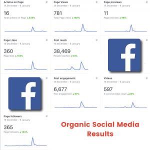 organic social media results ottawa facebook social media manager