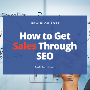 How to Get Sales Through SEO ottawa seo company profit parrot