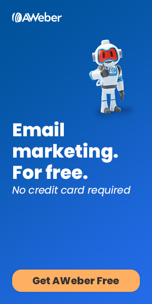 AWeber Free: Email marketing for free. No credit card required.