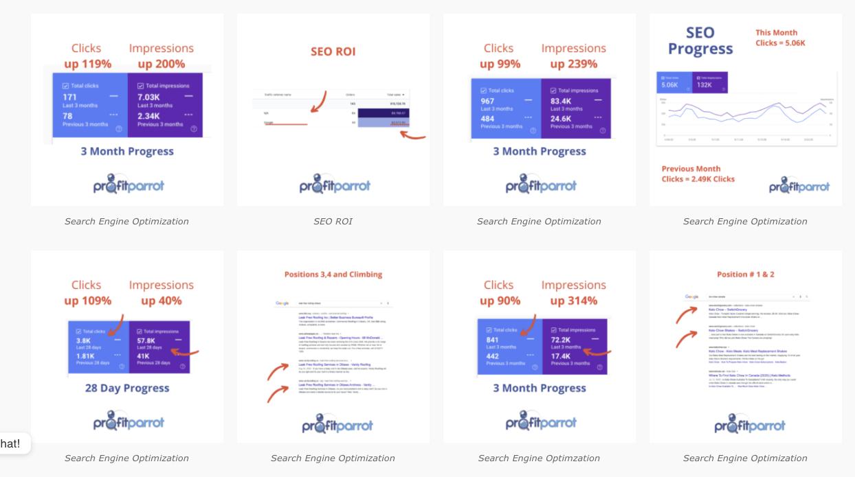 seo company results